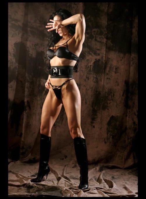 MILANOFisico muscoloso e tanta femminilità
